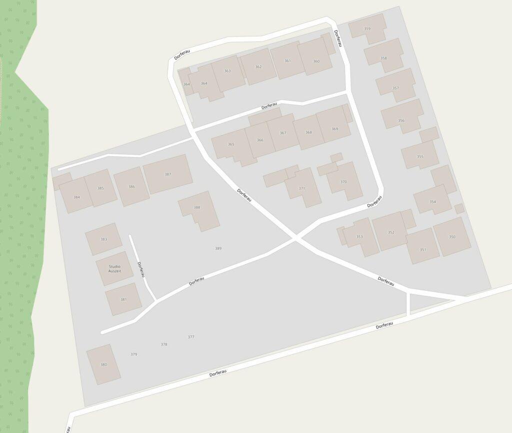 Karte Studio Auszeit Dorferau 382